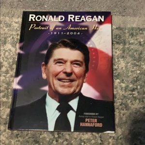Gently used Ronald Regan Hardback book
